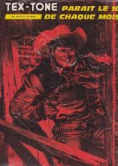 Verso de Tex-Tone -407- L'Ouest sauvage
