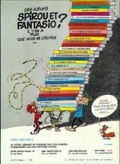 Verso de Spirou et Fantasio -HS01 a1981- L'héritage