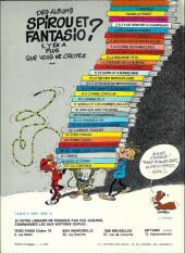 Verso de Spirou et Fantasio -HS02a- Radar le robot