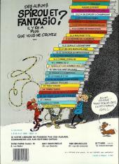 Verso de Spirou et Fantasio -5e83- Les voleurs du Marsupilami