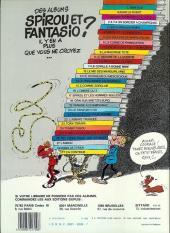 Verso de Spirou et Fantasio -6d83- La corne de rhinocéros