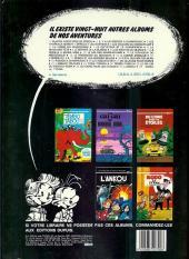 Verso de Spirou et Fantasio -29a1983- Des haricots partout