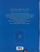 Verso de Les passagers du vent -INT1- Édition intégrale Tomes 1 à 5
