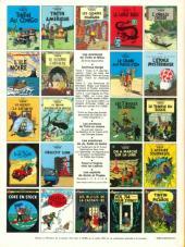 Verso de Tintin (Historique) -13C4bis- Les 7 boules de cristal