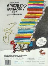 Verso de Spirou et Fantasio -24b83- Tembo tabou