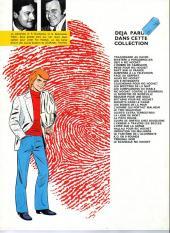 Verso de Ric Hochet -10c1981- Les 5 revenants