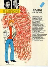 Verso de Ric Hochet -17c1981- Épitaphe pour Ric Hochet