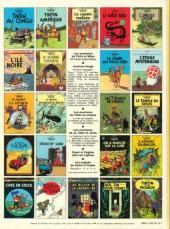 Verso de Tintin (Historique) -16C4- Objectif lune