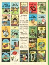 Verso de Tintin (Historique) -18C4- L'affaire Tournesol