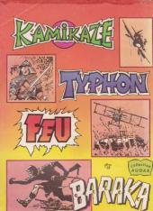 Verso de Kamikaze (Arédit) -1- Le prodigieux kiwi