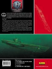 Verso de U.47 -2TL- Le survivant