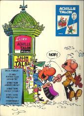 Verso de Achille Talon -2a72- Achille Talon aggrave son cas !