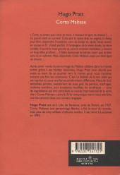 Verso de Corto Maltese - Tome Roman