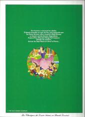 Verso de Les classiques du dessin animé en bande dessinée -5Pub- Blanche Neige et les Sept Nains