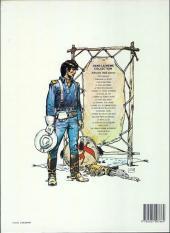 Verso de Blueberry -15b1985- Ballade pour un cercueil