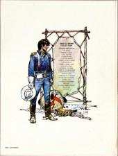 Verso de Blueberry -12a1981- Le spectre aux balles d'or