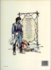 Verso de Blueberry -11c1985- La mine de l'Allemand perdu
