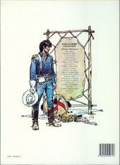 Verso de Blueberry -2e1986- Tonnerre à l'ouest