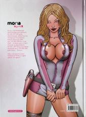 Verso de Mona Agent X -1- Premières armes