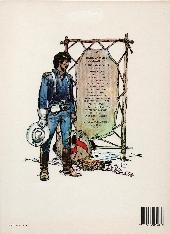 Verso de Blueberry (La Jeunesse de) -2b1984- Un Yankee nommé Blueberry