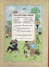 Verso de Tintin (Historique) -8B12 bi- Le sceptre d'Ottokar