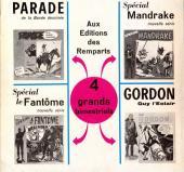Verso de Mandrake (4e Série - Remparts) (Spécial - 2) -2- Les caprices du Comte Lode - Le collège de magie