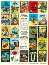 Verso de Tintin (Historique) -22C4- Vol 714 pour Sydney