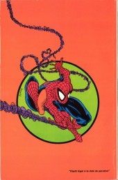 Verso de Spider-Man (Semic) -1- Spider-Man 1