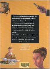 Verso de (AUT) Hyman - Le carnet noir