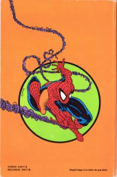 Verso de Spider-Man (Semic) -9- Spider-Man 9