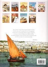 Verso de Carnets d'Orient -8a- La fille du Djebel Amour
