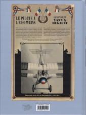 Verso de Le pilote à l'Edelweiss -1- Valentine