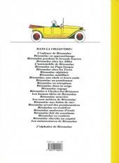 Verso de Bécassine -14e- L'automobile de Bécassine