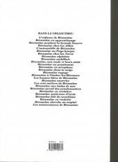 Verso de Bécassine -19d93- Bécassine dans la neige