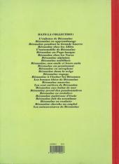 Verso de Bécassine -25d92- Bécassine en roulotte