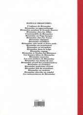 Verso de Bécassine -21d92- Bécassine à Clocher-les-Bécasses
