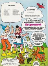 Verso de Sylvain et Sylvette -4a- Le banquet des compères !