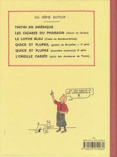 Verso de Tintin (Fac-similé N&B) -2PF- Tintin au congo
