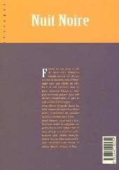 Verso de Nuit Noire -INTNB- Edition Intégrale (N&B)