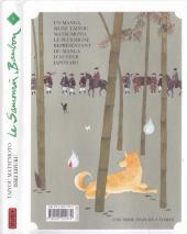 Verso de Le samouraï bambou -8- Tome 8