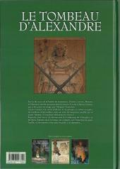 Verso de Le tombeau d'Alexandre -3- Le Sarcophage d'albâtre