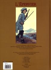 Verso de L'Épervier (Pellerin) -3a2005- Tempête sur Brest
