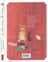 Verso de Le samouraï bambou -7- Tome 7
