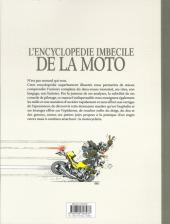 Verso de Joe Bar Team -HS1c- Encyclopédie imbécile de la moto