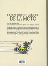 Verso de Joe Bar Team -HS1d- Encyclopédie imbécile de la moto