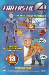 Verso de Ultimate Fantastic Four -1- Lo fantástico (parte 1 y 2)