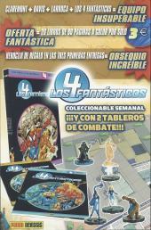 Verso de Ultimate Fantastic Four -5- Muerte (parte 3 y 4)