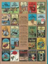 Verso de Tintin (Historique) -4C1- Les cigares du pharaon