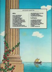 Verso de Alix -11a1983- Le prince du Nil