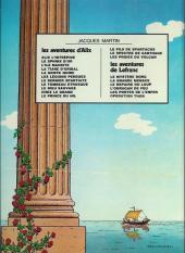 Verso de Alix -7a1978- Le Dernier Spartiate